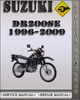 Thumbnail 1996-2009 Suzuki DR200SE Factory Service Repair Manual 1997 1998 1999 2000 2001 2002 2003 2004 2005 2006 2007 2008