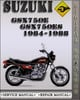 Thumbnail 1984-1988 Suzuki GSX750E GSX750ES Factory Service Repair Manual 1985 1986 1987