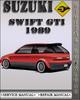 Thumbnail 1989 Suzuki Swift GTi Factory Service Repair Manual