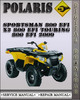 Thumbnail 2009 Polaris Sportsman 800 EFI X2 800 EFI Touring 800 EFI Factory Service Repair Manual