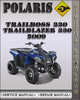 Thumbnail 2009 Polaris Trailboss 330 Trailblazer 330 Factory Service Repair Manual
