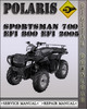 Thumbnail 2005 Polaris Sportsman 700 EFI 800 EFI Factory Service Repair Manual