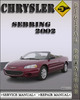 Thumbnail 2002 Chrysler Sebring Factory Service Repair Manual