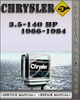Thumbnail 1966-1984 Chrysler 3.5-140 Hp and 1984-1988 Force 4-125 Hp Service Repair Manual