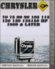 Thumbnail 1969 & Later Chrysler Outboard 70 75 80 90 105 115 120 130 135 150 Hp Factory Service Repair Manual