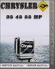 Thumbnail Chrysler Outboard 35 45 55 Hp Factory Service Repair Manual