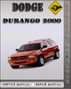 Thumbnail 2000 Dodge Durango Factory Service Repair Manual