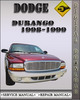 Thumbnail 1998 Dodge Durango Factory Service Repair Manual
