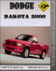 Thumbnail 2000 Dodge Dakota Factory Service Repair Manual