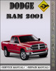 Thumbnail 2001 Dodge Ram Factory Service Repair Manual