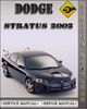 Thumbnail 2002 Dodge Stratus Factory Service Repair Manual