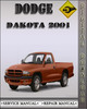 Thumbnail 2001 Dodge Dakota Factory Service Repair Manual
