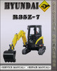 Thumbnail Hyundai R35Z-7 Crawler Excavator Factory Service Repair Manual