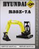 Thumbnail Hyundai R35Z-7A Crawler Excavator Factory Service Repair Manual