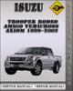 Thumbnail 1999-2002 Isuzu Trooper Rodeo Amigo Vehicross Axiom Factory Service Repair Manual 2000 2001