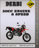 Thumbnail Derbi 50cc Engine 6 Speed Factory Service Repair Manual