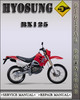 Thumbnail Hyosung RX125 RX 125 Factory Service Repair Manual