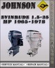Thumbnail 1965-1978 Johnson Evinrude 1.5-35 HP Factory Service Repair Manual 1966 1967 1968 1969 1970 1971 1972 1973 1974 1975 1976 1977