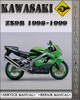 Thumbnail 1998-1999 Kawasaki ZX9R Factory Service Repair Manual