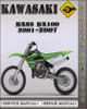 Thumbnail 2001-2007 Kawasaki KX85 KX100 Factory Service Repair Manual 2002 2002 2003 2004 2005 2006