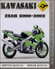 Thumbnail 2000-2002 Kawasaki Ninja ZX6R Factory Service Repair Manual 2001