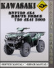 Thumbnail 2005 Kawasaki KVF750 4x4 Brute Force 750 4x4i Factory Service Repair Manual