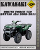 Thumbnail 2008-2011 Kawasaki Brute Force 750 4x4i KVF750 4x4 Factory Service Repair Manual 2009 2010
