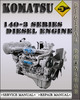 Thumbnail Komatsu 140-3 Series Diesel Engine Factory Shop Service Repair Manual
