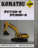 Thumbnail Komatsu PC750-6 PC800-6 Factory Shop Service Repair Manual