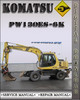 Thumbnail Komatsu PW130ES-6K Operation and Maintenance Manual