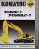 Thumbnail Komatsu PC600-7 PC600LC-7 Factory Shop Service Repair Manual