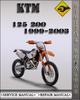 Thumbnail 1999-2003 KTM 125 200 Factory Service Repair Manual 2000 2001 2002