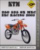 Thumbnail 2003 KTM 250 525 SX MXC EXC Racing Factory Service Repair Manual