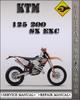 Thumbnail 1999-2002 KTM 125 200 SX EXC Factory Service Repair Manual