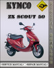 Thumbnail Kymco ZX Scout 50 Factory Service Repair Manual
