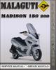 Thumbnail Malaguti Madison 180 200 Factory Service Repair Manual