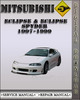 Thumbnail 1997-1999 Mitsubishi Eclipse & Eclipse Spyder Factory Service Repair Manual 1998