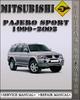 Thumbnail 1999-2002 Mitsubishi Pajero Sport Factory Service Repair Manual 2000 2001
