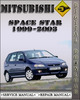 Thumbnail 1999-2003 Mitsubishi Space Star Factory Service Repair Manual 2000 2001 2002