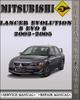 Thumbnail 2003-2005 Mitsubishi Lancer Evolution 8 EVO 8 Factory Service Repair Manual 2004