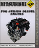 Thumbnail Mitsubishi F9Q Series Diesel Engine Factory Service Repair Manual