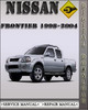 Thumbnail 1998-2004 Nissan Frontier Factory Service Repair Manual 1999 2000 2001 2002 2003