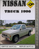 Thumbnail 1996 Nissan Truck Factory Service Repair Manual