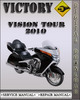 Thumbnail 2010 Victory Vision Tour Factory Service Repair Manual