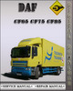 Thumbnail DAF CF65 CF75 CF85 Series Factory Service Repair Manual