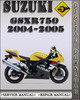 Thumbnail 2004-2005 Suzuki GSXR750 Factory Service Repair Manual