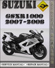 Thumbnail 2007-2008 Suzuki GSXR1000 Factory Service Repair Manual