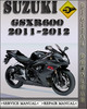 Thumbnail 2011-2012 Suzuki GSXR600 Factory Service Repair Manual