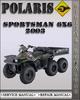 Thumbnail 2003 Polaris Sportsman 6x6 Factory Service Repair Manual