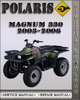 Thumbnail 2003-2006 Polaris Magnum 330 Factory Service Repair Manual 2004 2005
